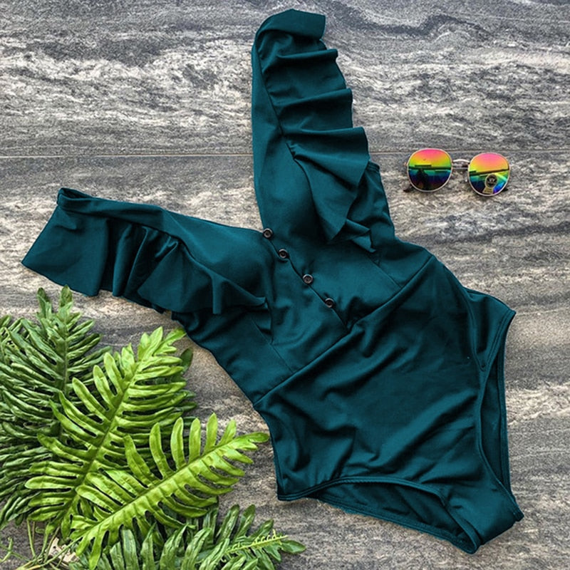 Bikini: Off the Shoulder Swimsuit