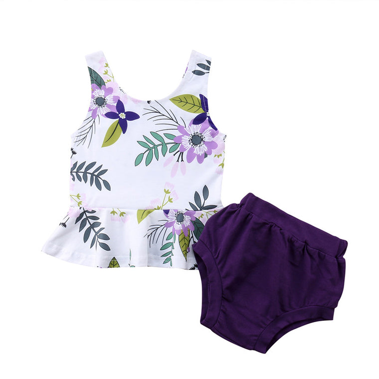 Baby Girl: Summer Toddler Baby Girl's Ensemble