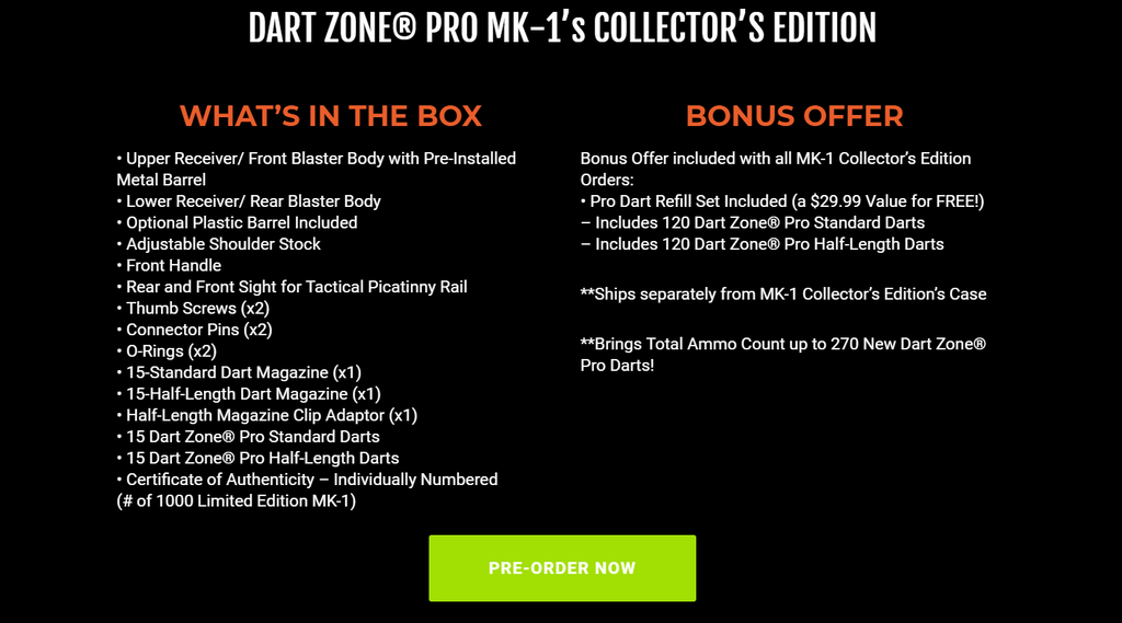 outofdarts blog dart zone pro MK-1 review pre-order