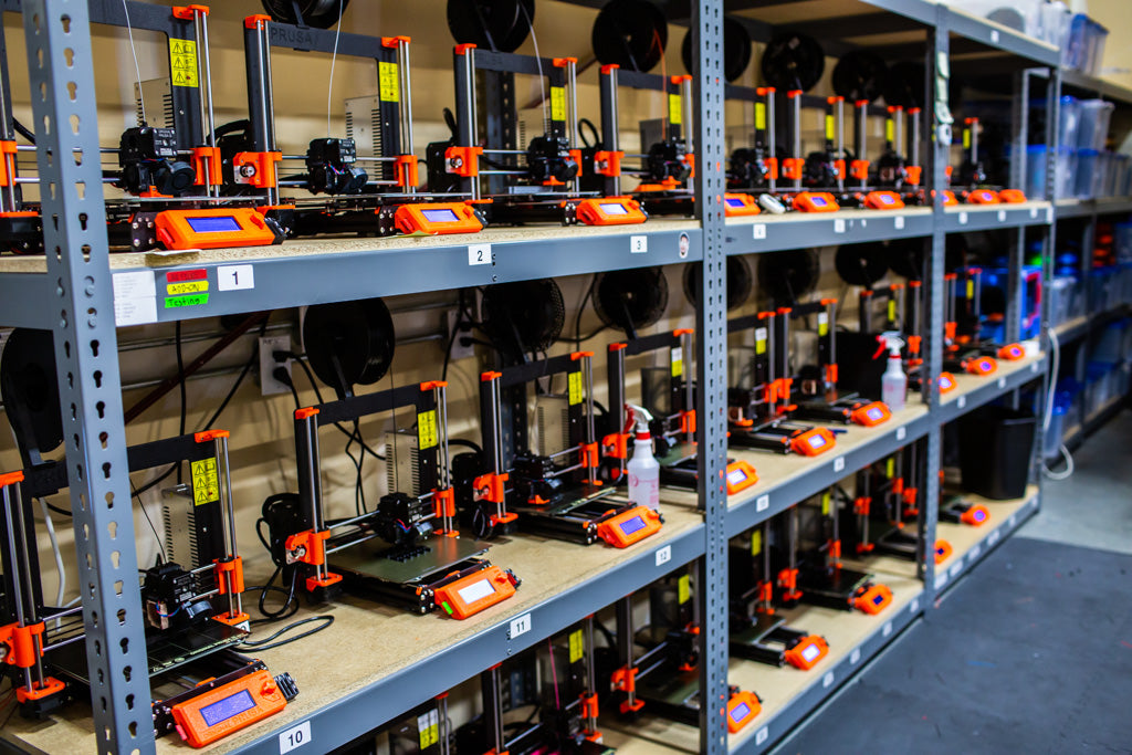Prusa 3d Print Farm For Nerf Mods Out Of Darts