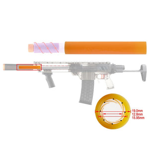 Worker 8 Lines Scar Barrel Tube for Short Darts (Retaliator / Prophecy)