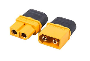 XT-60H Connector Nylon Male/Female pair (With wire covers)