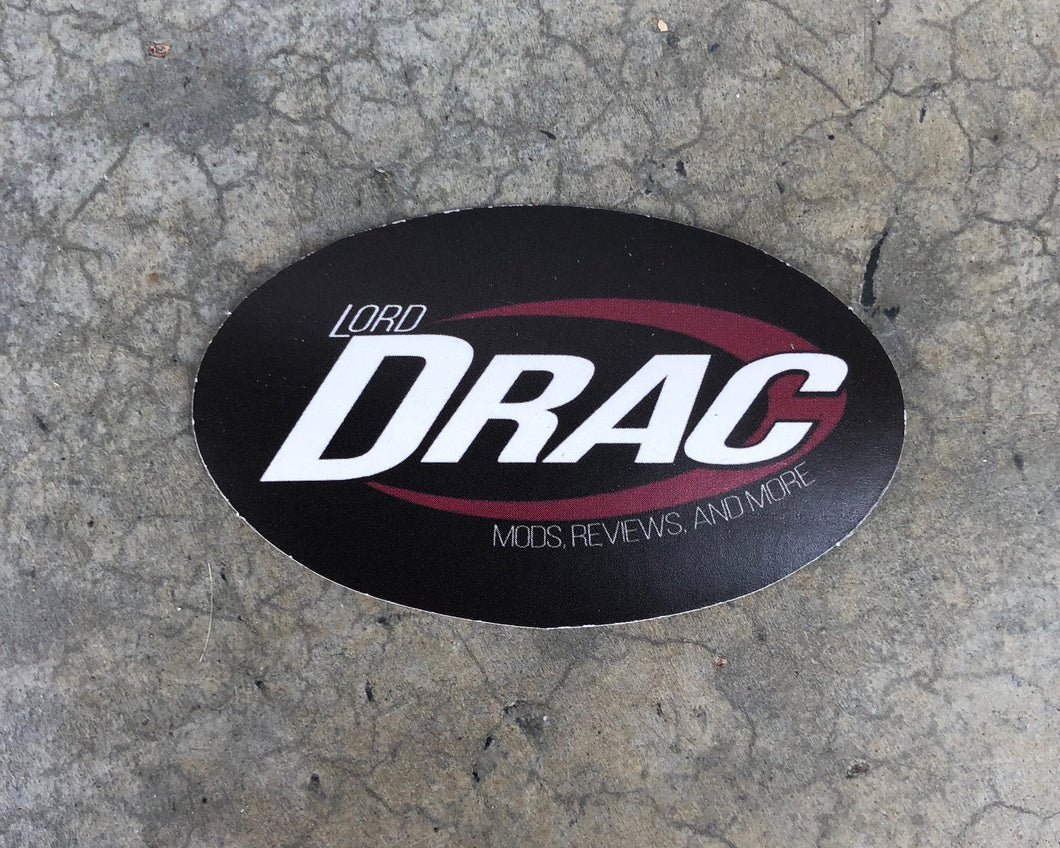 Lord Drac Sticker