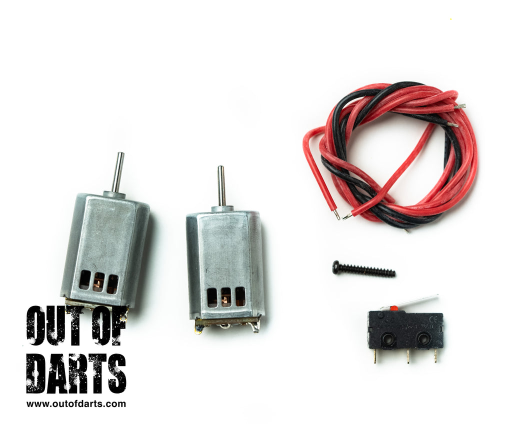 Worker 132 Budget Motor + Switch Kit