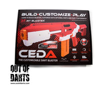 Jet Ceda Blaster + Alpha RT Combo kit (Red & Blue) 150FPS Save $18!