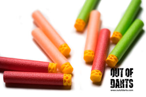 Waffle Tip Foam Darts (Multiple colors and quantities)