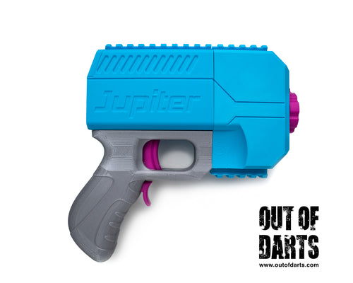 Nerf mod Rival Jupiter Blaster Kit (Build-it-Yourself) - Out of Darts