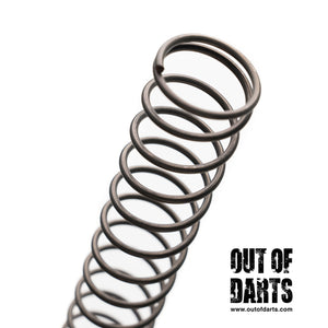 Nerf mod K25 Spring with squared ends (BETTER than McMaster) - Out of Darts