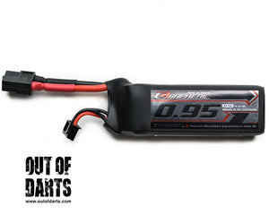 Graphene 3s 950mAh 65c LiPO pack (XT-60) OOD Exclusive