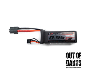 Nerf mod Graphene 2s 950mAh 65c LiPO pack (XT-60) OOD Exclusive - Out of Darts