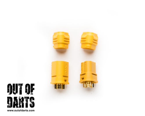 MT-30 Connector Nylon Male/Female pair (3 wire connector)