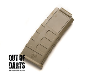 Nerf mod Worker Nerf 12 Round Magpul Style Magazine Clip Clipazine (5 colors) - Out of Darts