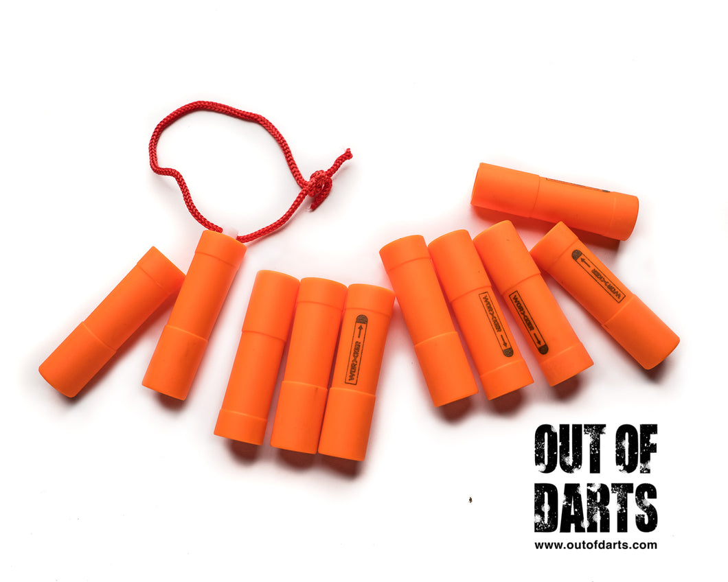 Worker 10 Piece Mega Elite Dart Adapter