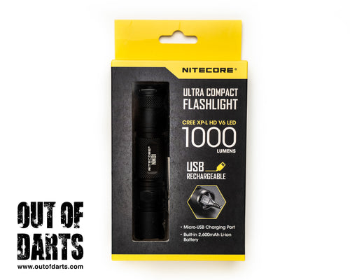 Nitecore NM01 1000 Lumen Flashlight (USB Rechargeable)
