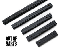 Nerf mod Worker Picatinny Rail Mount (8 Size Options) - Out of Darts