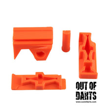 Nerf mod Worker Stryfe Picatinny Set Adapter (3 Colors) - Out of Darts