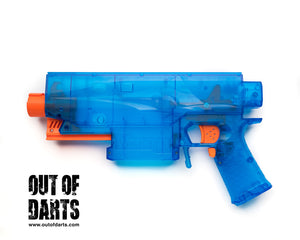 Nerf mod Worker Swordfish Blaster (Shell Kit Like Stryfe) - Out of Darts