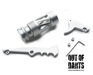 Nerf mod Tooth & Nail Caliburn kit by Drac - Out of Darts