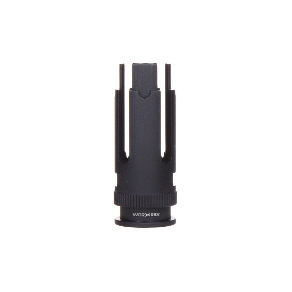 Worker Blackout Pronged Muzzle / Flash Hider (Threadless Connector)