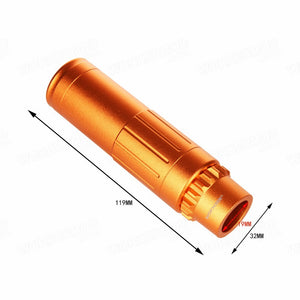 Worker Ghost Style Muzzle Flash Hider w/ Supressor