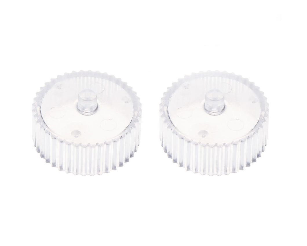 Worker Transparent Flywheel (pair)