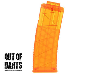 Worker 15-Round Short Dart Honeycomb Magazine Clip (Multiple Colors)