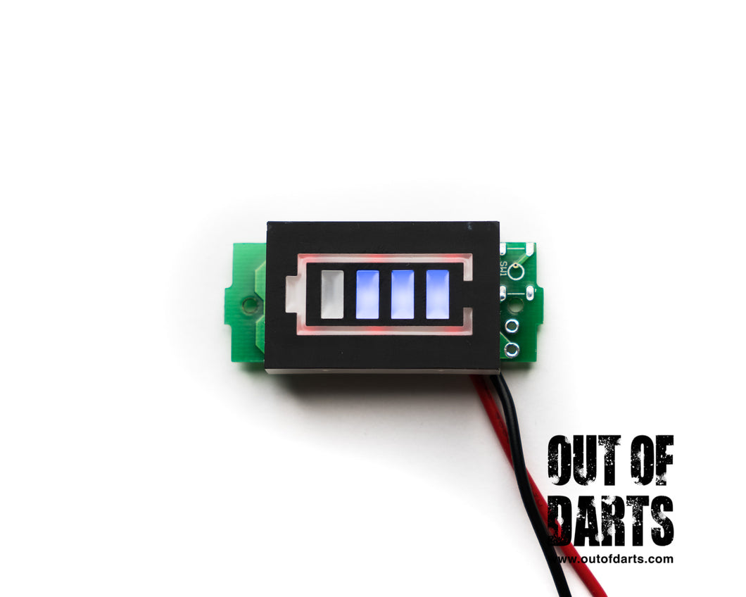 Nerf mod Lipo Battery Indicator (2s or 3s options) - Out of Darts