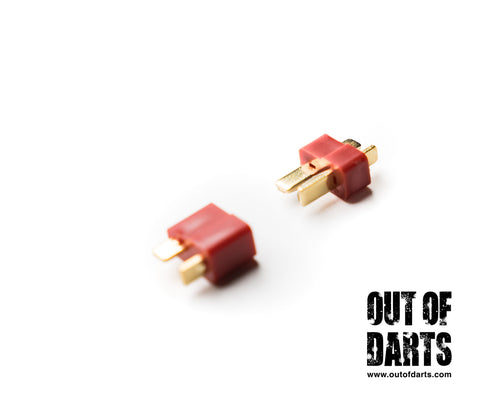 Nerf mod Deans Connector Nylon Male/Female Pair - Out of Darts