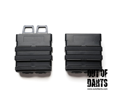 Nerf mod FastMag Double Stacks (Magazine holders - holds 2x mags) - Out of Darts
