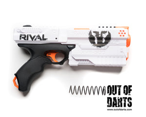 "Nerf mod K25 Spring 3.7"" 120-125FPS Average (Easy-Prime) - Out of Darts"