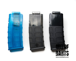 Nerf mod Worker Nerf Short Dart 12 Round Magpul Style Magazine Clip (4 colors) - Out of Darts