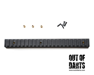 Nerf mod Worker Picatinny Rail for Nerf Stryfe (Multiple Sizes) - Out of Darts