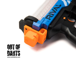 Nerf mod Nerf Rival Artemis Stock (V2.0!) Attachment with Sling Points [Radiosilence187] - Out of Darts