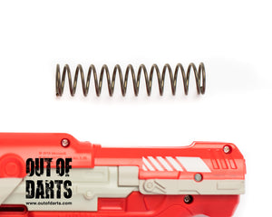 "Nerf mod BoomCo 4"" M6/Farshot Spring (00D CUSTOM) 110+ FPS with easy install - Out of Darts"