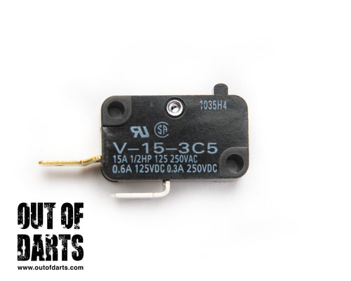 15A Microswitch Button (Genuine Omron)