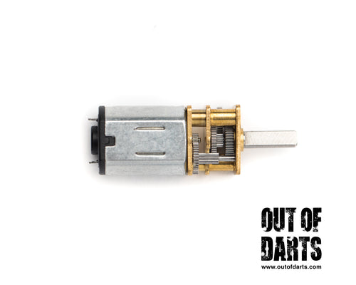 Nerf mod N20 Metal Gear Motor (Micro Size) 600 - 1000 - 1200RPM (3 options) Jupiter Pusher - Out of Darts