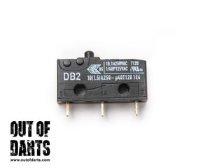 10A Microswitch (Cherry DB2 pin plunger)