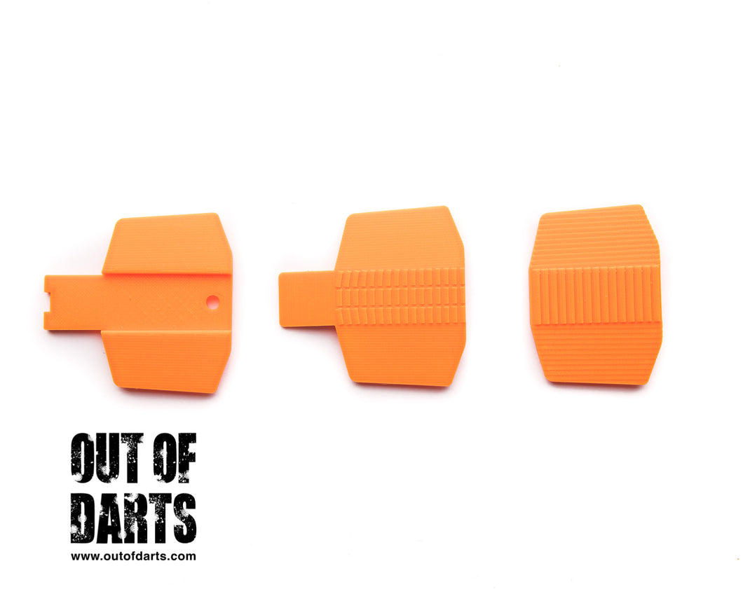 Nerf mod Rapidstrike Motor Cover (3 styles!) Designed by Tarik - Out of Darts