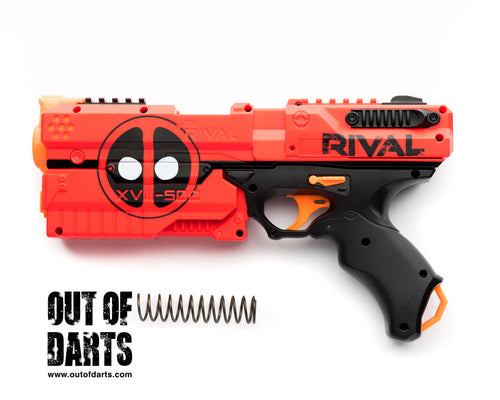 Nerf mod Kronos Spring (Strong-prime) 135FPS average (NEW) - Out of Darts
