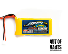 Nerf mod Zippy 2s 1000mAh 40c LiPO pack (XT-60 connector) - Out of Darts