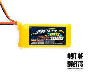 Nerf mod Zippy 3s 1000mAh 35c LiPO Pack (XT-60 connector) - Out of Darts