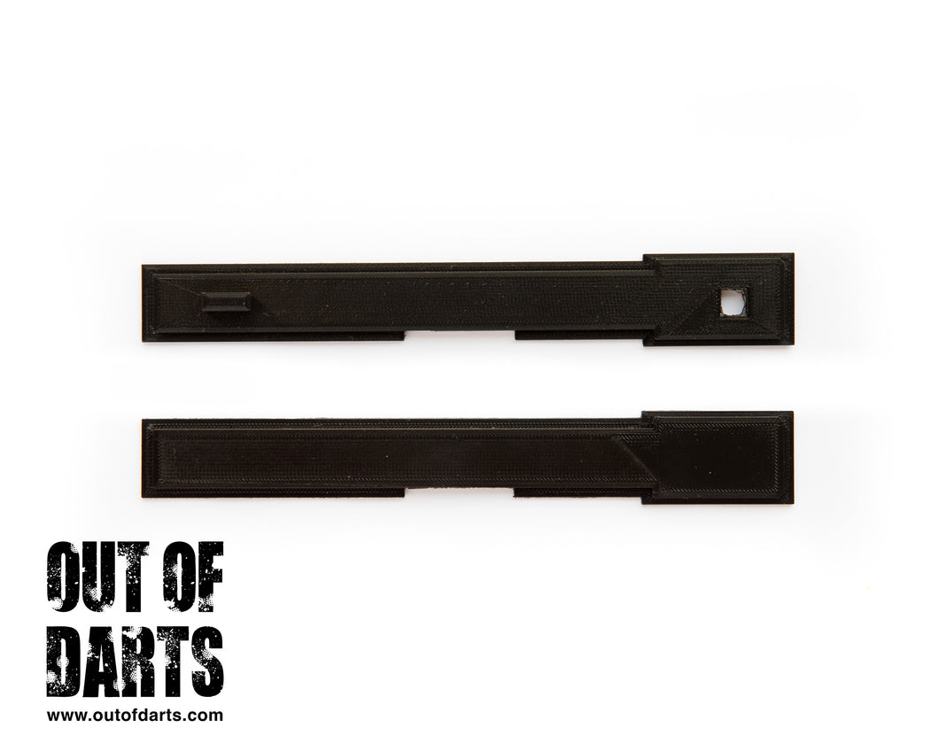Rival Zeus Flat Top Rail Replacement (BLACK)