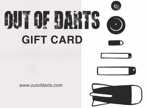 Out of Darts Gift Card