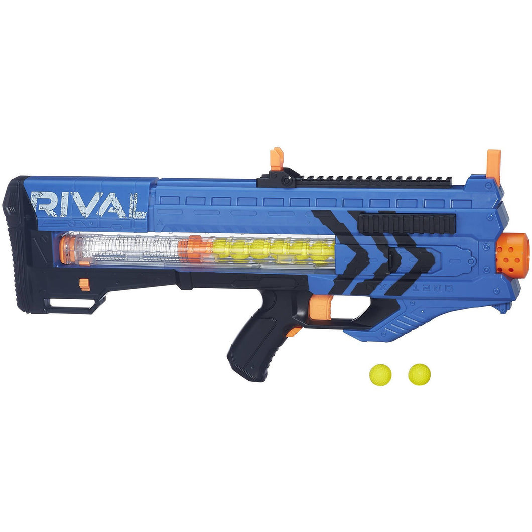 Nerf Rival Zeus Modded for 3s, 16AWG, 16A switch