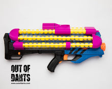 "Nerf Rival Zeus ""HIRricane"" Modded blaster (85 round capacity) Battery/charger NOT included OUT of STOCK"