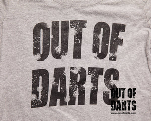 Out of Darts 2017 T-Shirt  Ladies Sizes