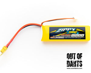 Zippy compact 2s 2200mAh 25c LiPO pack (XT-60 connector)