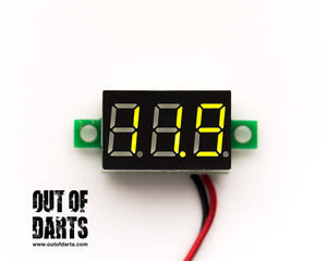 "Voltage meter .36"" 4 colors!"