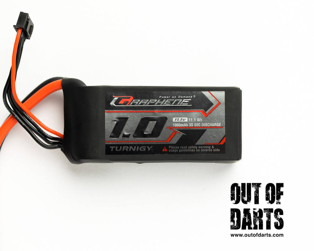 Turnigy Graphene 3s 1000mAh 65 LiPO pack w/ XT-60 connector