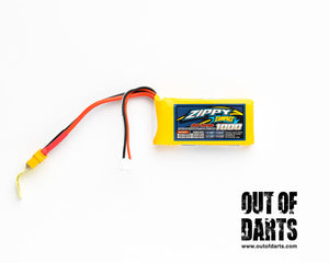 Zippy compact 2s 1000mAh 40c LiPO pack (XT-60 connector)
